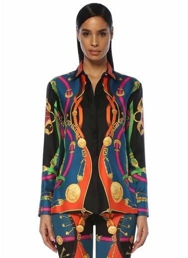 Versace Gömlek Renkli